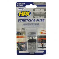 HPX STRETCH & FUSE VULKANISERENDE TAPE - TRANSP. 25MM X 1,8M