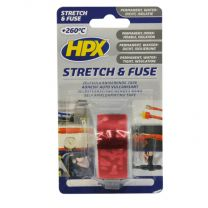 HPX STRETCH & FUSE VULKANISERENDE TAPE - ROOD 25MM X 3M