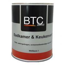 BTC-LINE BADKAMER & KEUKENVERF 1LTR B.1/WIT