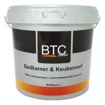 BTC-LINE BADKAMER & KEUKENVERF 2,5LTR B.1/WIT