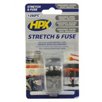 HPX STRETCH & FUSE VULKANISERENDE TAPE - ZWART 25MM X 3M