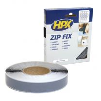 HPX ZIP FIX KLITTENBAND (LUS) - ZWART 20MM X 5M
