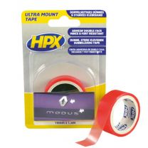 HPX ULTRA MOUNT BEVESTIGINGSTAPE - TRANSPARANT 19MM X 1,5M