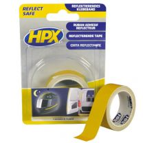 HPX REFLECTERENDE TAPE - GEEL 19MM X 1,5M